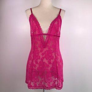 Victoria's Secret Lace Chemise Sexy Lingerie -A6